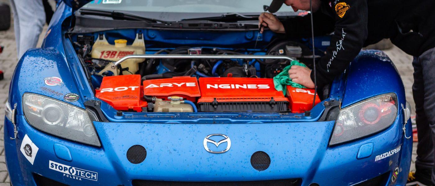 Mazda RX8 Struś Tomek Gronowski